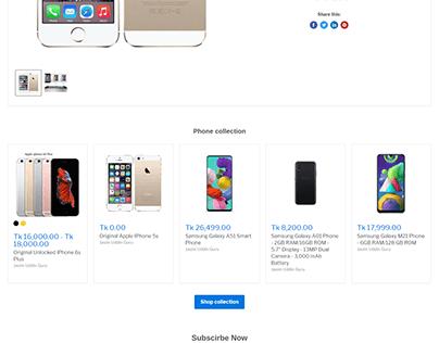 Shopify Empire Theme Customization