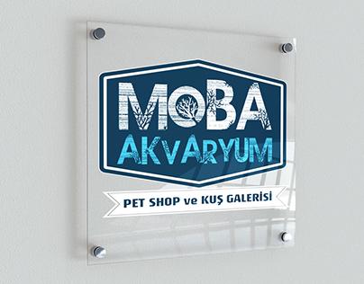 Moba Akvaryum Petshop ve Kuş Galerisi Kurumsal Kimlik