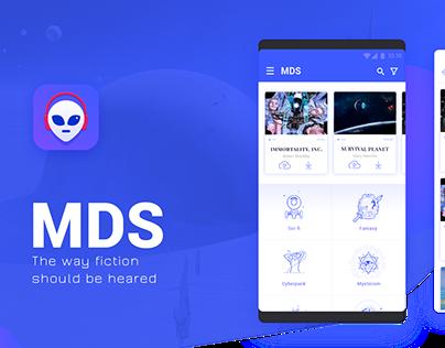 MDS - audio books app