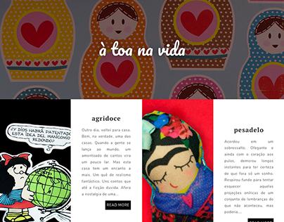 Site: À toa na vida