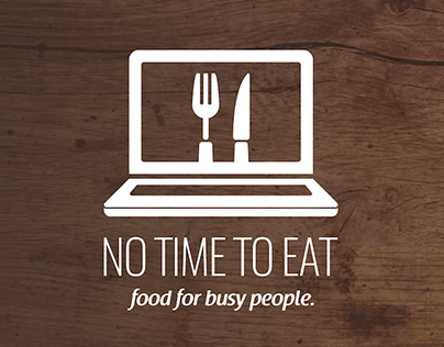 NO TIME TO EAT Logo
