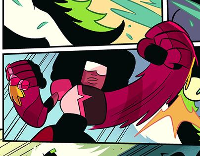 Steven Universe comic test pages
