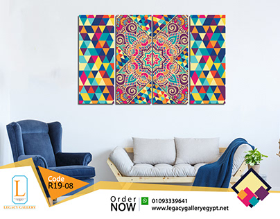 New Collection of Printed Canvas for Living Rooms