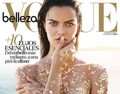 VOGUE Mexico Beauty Cover // April 2016