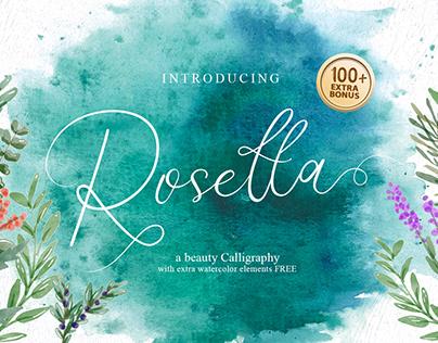 Rosetta Typeface