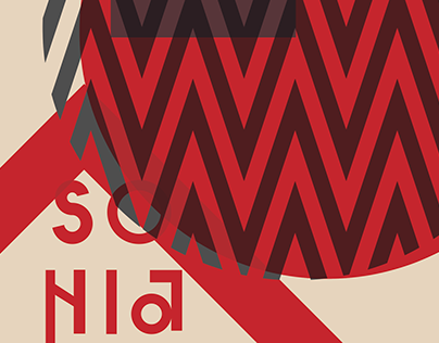 Sonia Delaunay Poster Campaign
