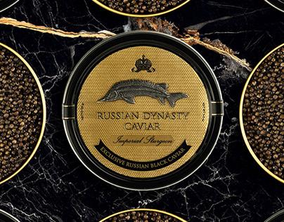 Russian Dynasty Caviar Website