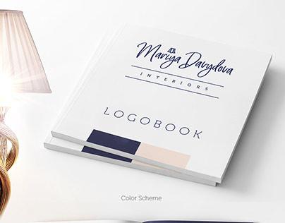 Logotype of interior designer Maria Davydova