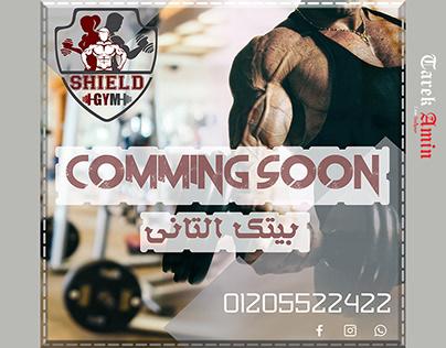 Social Media Post for Shield Gym - fitness center