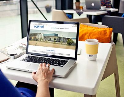 Sitio Web Ecomel