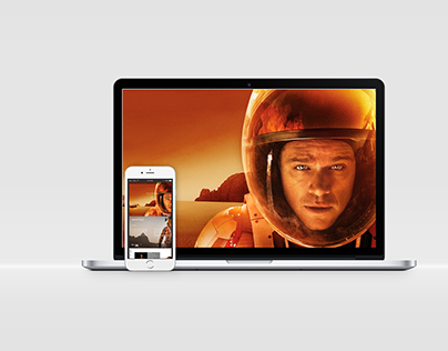 """Web """"The Martian"""" con versión para móviles"""
