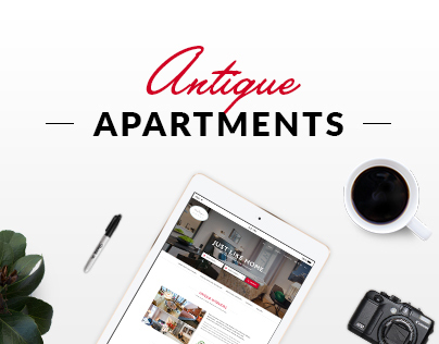 Antique Apartments redesign