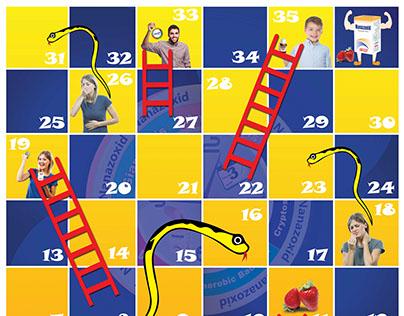 Ladder and Snake Game