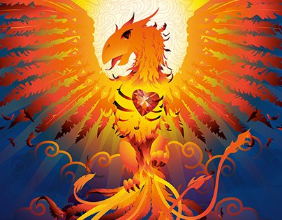 Illustration The Phoenix
