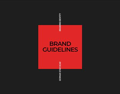 German Star Gear | Branding Guidebook
