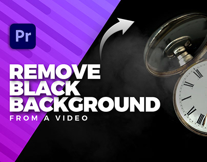 Remove Black Background from a Video in Premiere Pro