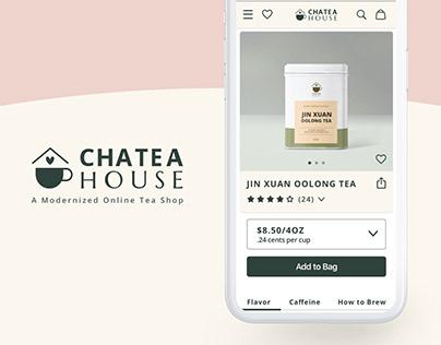 Online Tea Shop Concept