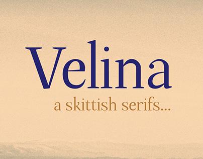 Velina font
