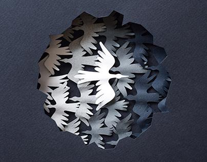 Bird | paper art