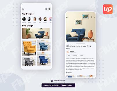 Furniture Mockup App