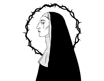 The Nun Illustration