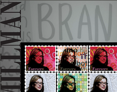 Debbie Millman Themed Stamp Collection