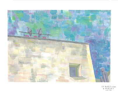 Pigeons (painting series)