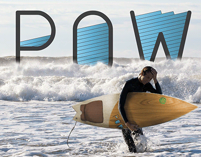 P.O.W. (Protect Our Waves) Surfboard