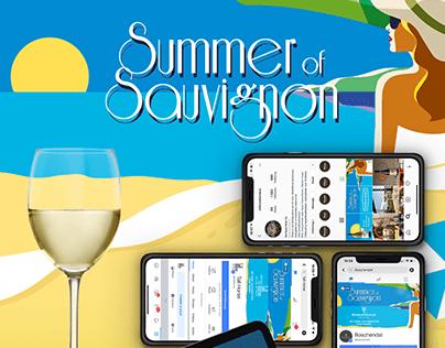 Summer of Sauvignon Web Design + Social Media