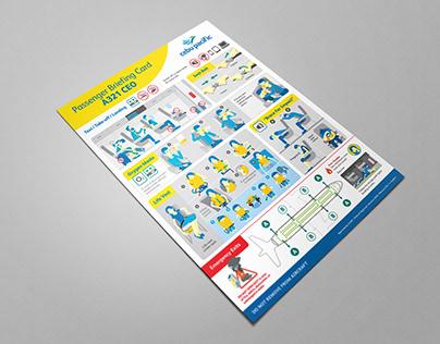 Cebu Pacific Flight Safety Cards