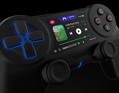 Playstation Dualshock Touch 2020 Concept