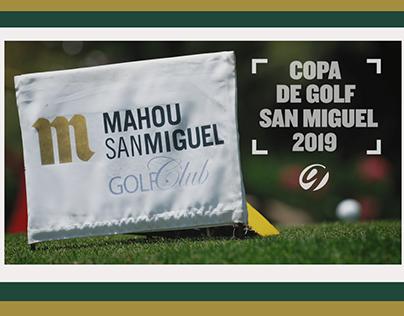 Foto/Vídeo Copa San Miguel Golf 2019 para Gambito Golf