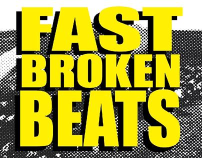 FAST BROKEN BEATS pary poster // summer edition 0.3