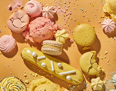 Messy pastry party