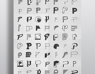 P is for Poster