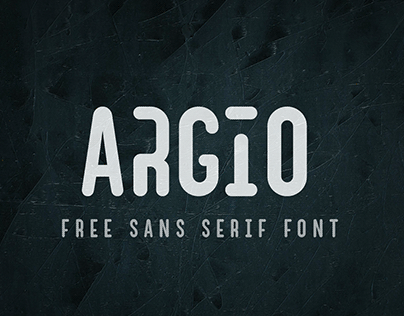 Argio I Free Sans Serif with optional Stencils