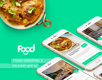 Food Ordering & Delivery UI kit
