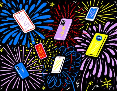 Diwali-Shopping – For Bloomberg Businessweek