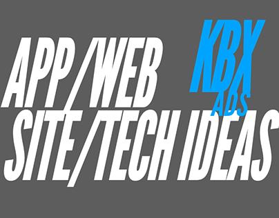 App / Web / Site / Tech Ideas