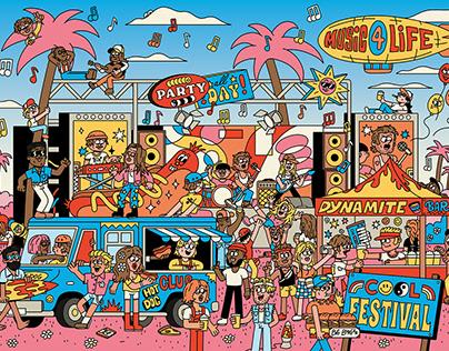 Cool Festival Puzzle x Sulo