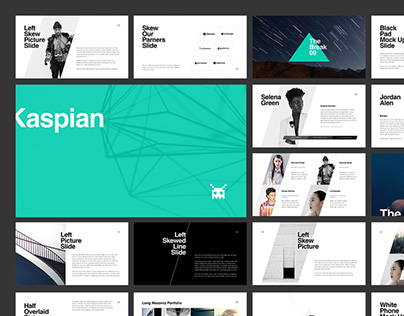 KASPIAN Presentation Template (PowerPoint & Keynote)