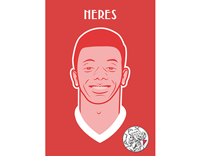 AFC Ajax player illustrations
