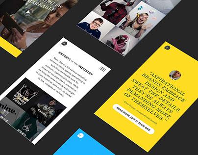 Team One Website 2016