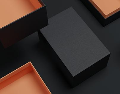 Custom Packaging Box Renders