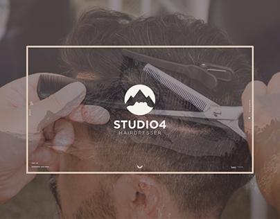 Studio 4 Hairdresser - Branding & Website