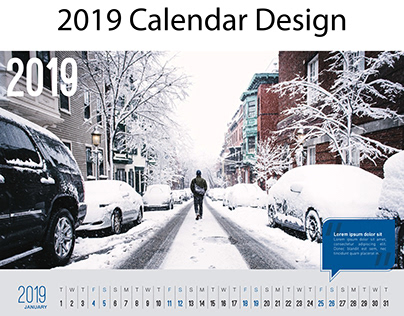 New Year 2019 Calendar | Free Download