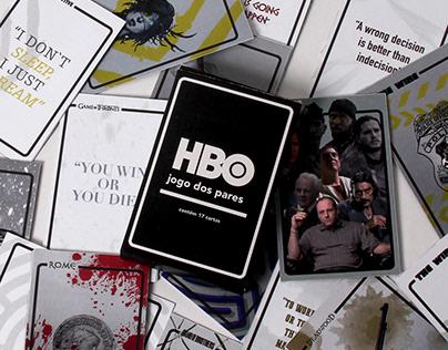 HBO Matching Pairs Game / Jogo dos Pares HBO