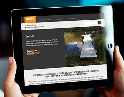 Hugo Plastics Website