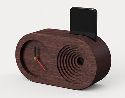 Acoustic clock