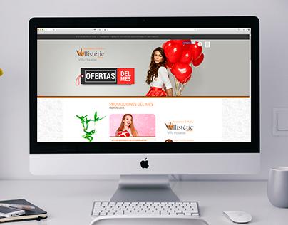 Sitio Web - Vellistétic Center